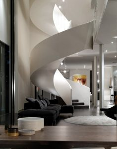 24 Modern Staircase Designs for Living Rooms