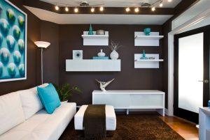 24 Best floating shelves living room