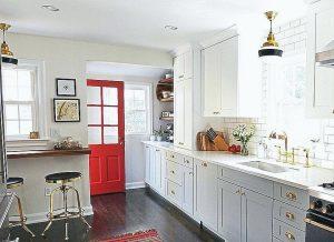 24 White Rustic Farmhouse Kitchen Styles