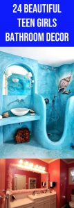 24 Awesome teen girls bathroom designs